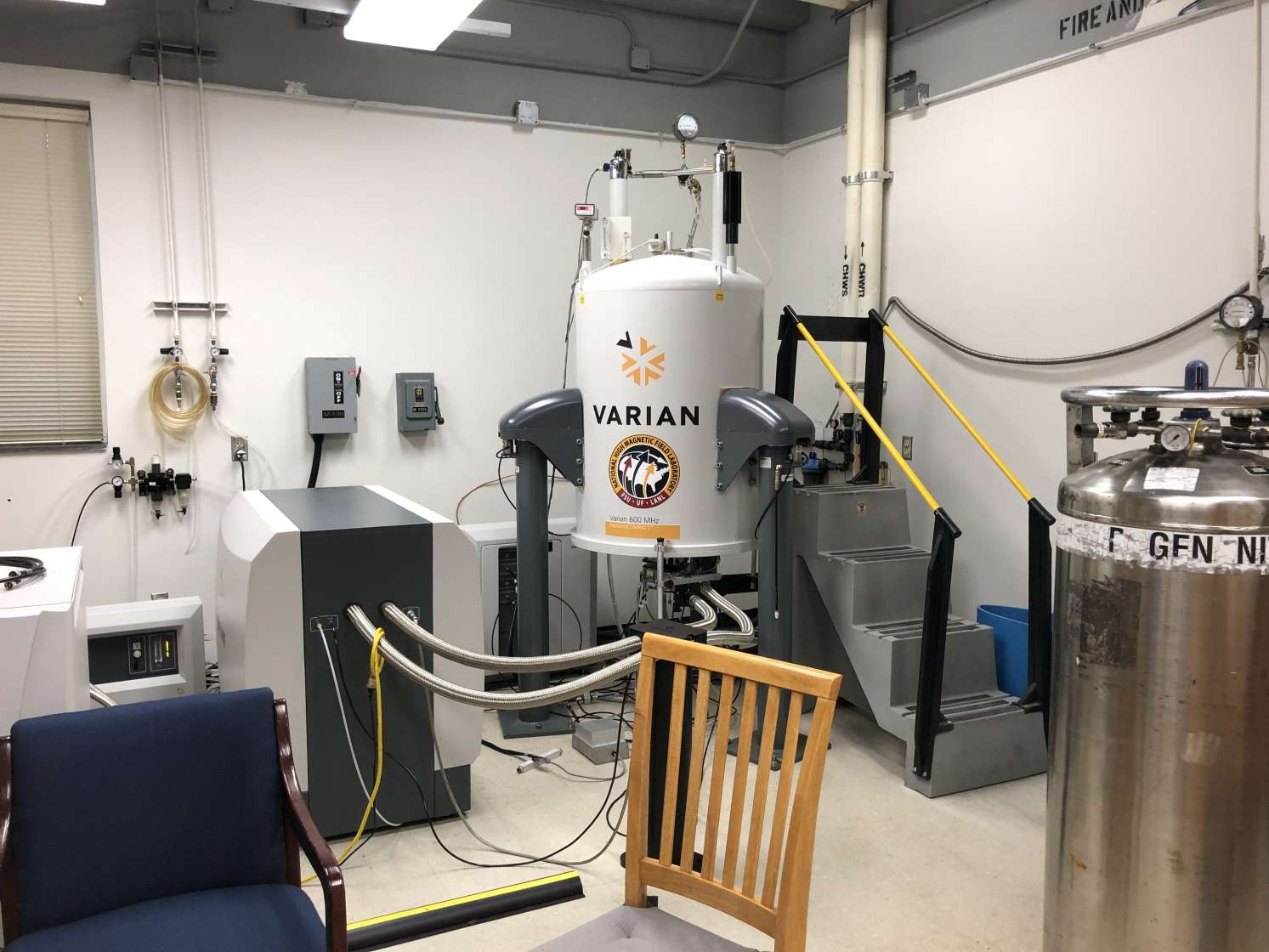 "AMRIS 600 MHz NMR ""Chem 600"" located in Chemistry Lab Building"