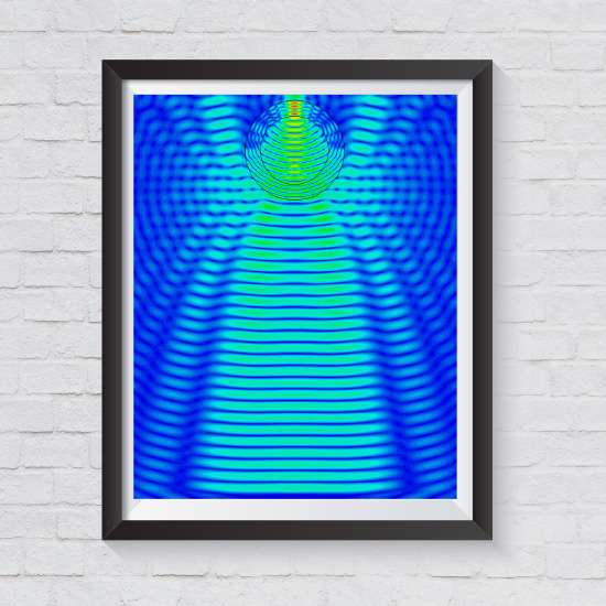 microwave art